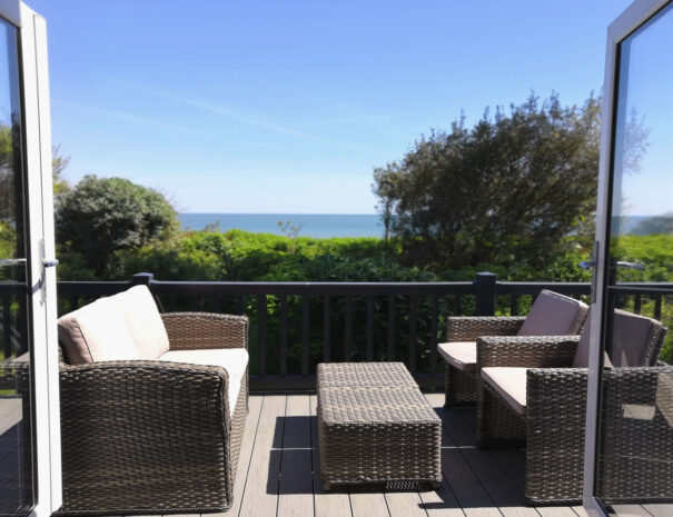 Bayview Holiday Lodge rental with sea views Suffolk Coast
