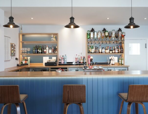 Beach View bar cafe Suffolk Coast.