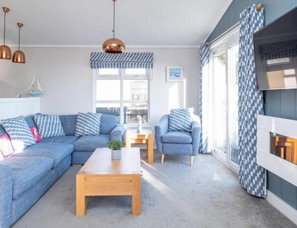 SeaBreeze Lodge 3 bedroom holiday rental Suffolk Coast