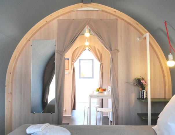 Beach View Super Pods - Double Bedroom 02