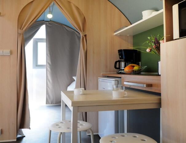 Beach View Super Pods - Kitchen