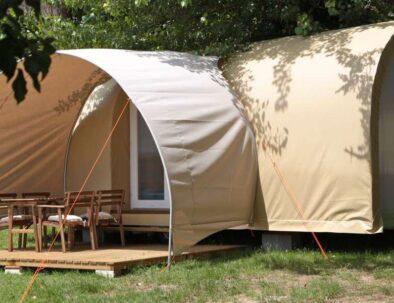 Camping pods at Beach View Holiday Park Suffolk